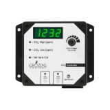 Grozone Control CO2R 0-5000 PPM CO2 Controller w/ AUX Output & High Temp