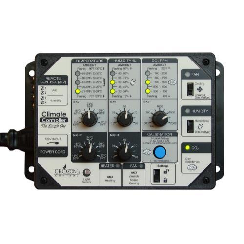 Grozone Control SCC1 Temperature- Humidity- & CO2 ...