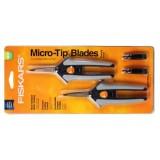Fiskars Micro Tip Blades Pruning Snip 2/Pack
