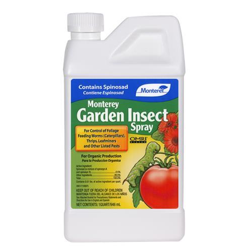 Monterey Garden Insect Spray W Spinosad Pint